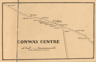Conway Centre, New Hampshire 1861 Old Town Map Custom Print - Carroll Co.