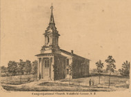 Congregational Church, New Hampshire 1861 Carroll Co.