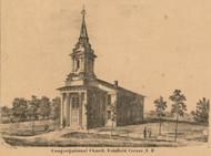 Congregational Church, New Hampshire 1861 Carroll Co.