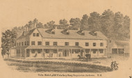 Falls Hotel, New Hampshire 1861 Carroll Co.
