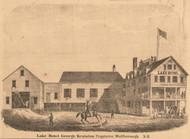 Lake Hotel, New Hampshire 1861 Carroll Co.