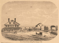 Res. of Israel Ames, New Hampshire 1861 Carroll Co.
