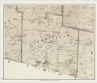 Fitzwilliam, New Hampshire 1858 Old Town Map Custom Print - Cheshire Co.