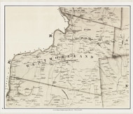 Westmoreland, New Hampshire 1858 Old Town Map Custom Print - Cheshire Co.