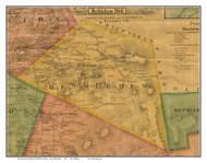 Bethlehem, New Hampshire 1860 Old Town Map Custom Print - Grafton Co.