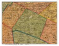 Lisbon, New Hampshire 1860 Old Town Map Custom Print - Grafton Co.