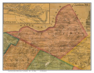 Littleton, New Hampshire 1860 Old Town Map Custom Print - Grafton Co.
