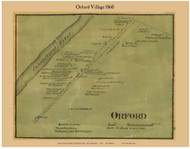 Orford Village, New Hampshire 1860 Old Town Map Custom Print - Grafton Co.