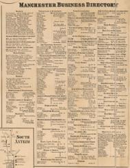 Manchester Business Directory, New Hampshire 1858 Hillsboro Co.