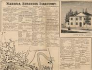 Nashua Business Directory, New Hampshire 1858 Hillsboro Co.