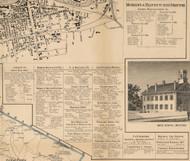 Nashua Manufacturers & Mechanics Directory, New Hampshire 1858 Hillsboro Co.