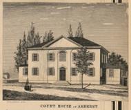 Court House, New Hampshire 1858 Hillsboro Co.