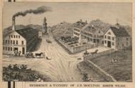 J.B. Moulton Tannery, New Hampshire 1858 Hillsboro Co.