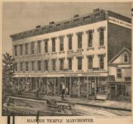 Masonic Temple, New Hampshire 1858 Hillsboro Co.