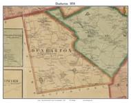 Dunbarton, New Hampshire 1858 Old Town Map Custom Print - Merrimack Co.