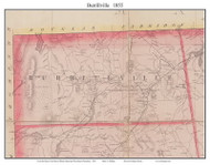 Burrillville, Rhode Island 1855 - Old Town Map Custom Print - 1855 State
