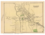 Barton Village, Vermont 1878 Old Town Map Reprint - Orleans Co.