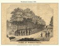 Woodstock Park, Vermont 1856 Windsor Co.
