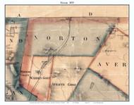 Norton, Vermont 1859 Old Town Map Custom Print - Essex Co.