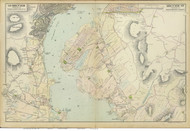 Dunderberg and Verplancks, 1891 - Old Map Reprint - NY Hudson River Valley Atlas