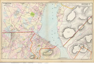 Cornwall and Fishkill, 1891 - Old Map Reprint - NY Hudson River Valley Atlas