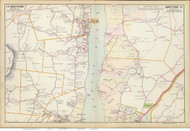 Marlborough and Spakenkill, 1891 - Old Map Reprint - NY Hudson River Valley Atlas