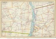 Bethlehem, Schodack, and Castleton, 1891 - Old Map Reprint - NY Hudson River Valley Atlas
