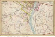 Albany and Greenbush - Southern Part, 1891 - Old Map Reprint - NY Hudson River Valley Atlas