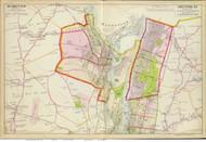 Cohoes and Lansingburg, 1891 - Old Map Reprint - NY Hudson River Valley Atlas