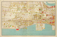 Yonkers - Sheet 3, New York 1893 - Old Town Map Reprint - Westchester Co. Atlas