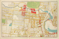 Yonkers - Sheet 4, New York 1893 - Old Town Map Reprint - Westchester Co. Atlas