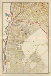Mt Vernon - Sheet 2, New York 1893 - Old Town Map Reprint - Westchester Co. Atlas