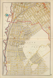 Mt Vernon - Sheet 2, New York 1893 - Old Town Map Reprint - Westchester Co. Atlas