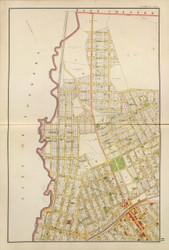 Mt Vernon - Sheet 3, New York 1893 - Old Town Map Reprint - Westchester Co. Atlas
