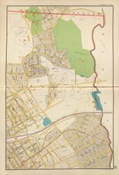 Mt Vernon - Sheet 4, New York 1893 - Old Town Map Reprint - Westchester Co. Atlas