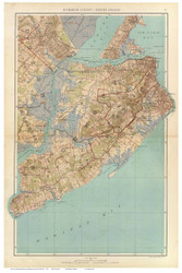 Staten Island, 1891 - Old Town Map Reprint - NYC Metro Atlas