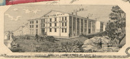 Hamilton St. Agricultural Works, New York 1854 Old Town Map Custom Print - Albany Co.