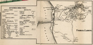 Fishkill Landing, New York 1858 Old Town Map Custom Print - Dutchess Co.