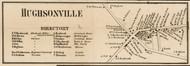Hughsonville, New York 1858 Old Town Map Custom Print - Dutchess Co.