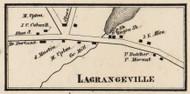 Lagrangeville, New York 1858 Old Town Map Custom Print - Dutchess Co.