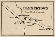 Hammertown, New York 1858 Old Town Map Custom Print - Dutchess Co.