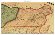 Chesterfield, New York 1858 Old Town Map Custom Print - Essex Co.