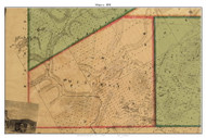 Minerva, New York 1858 Old Town Map Custom Print - Essex Co.