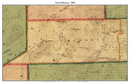 North Hudson, New York 1858 Old Town Map Custom Print - Essex Co.