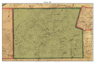Schroon, New York 1858 Old Town Map Custom Print - Essex Co.