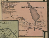 South Brookfield, New York 1859 Old Town Map Custom Print - Madison Co.