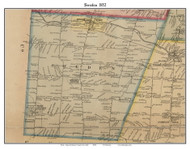 Sweden, New York 1852 Old Town Map Custom Print - Monroe Co.