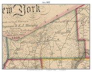 Ava, New York 1852 Old Town Map Custom Print - Oneida Co.