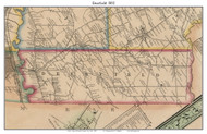 Deerfield, New York 1852 Old Town Map Custom Print - Oneida Co.