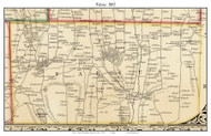 Fabius, New York 1852 Old Town Map Custom Print - Onondaga Co.